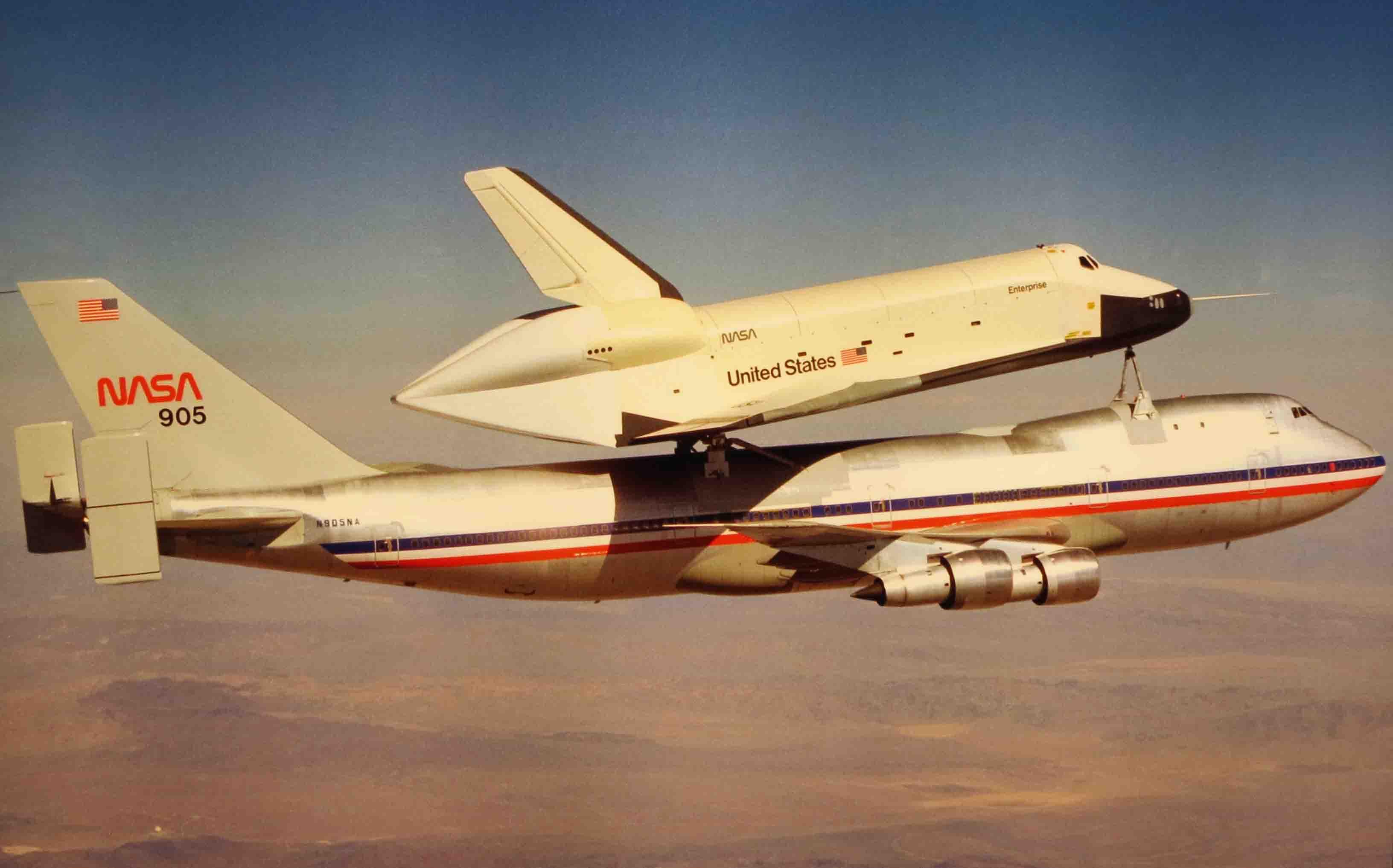 space shuttle enterprise - HD1920×1029